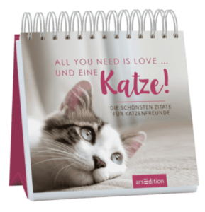 All_you_need_is_love_und_eine_katze